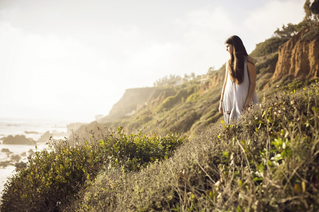 Bat Mitzvah Photo Session - Jasmine and the cliffs of El Matador