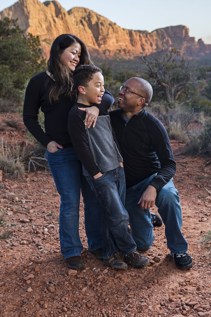 The Jones' Family in Sedona, AZ